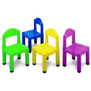 Plastikinė auganti vaikiška kėdutė