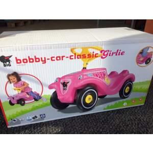Paspiriama mašina BIG BOBBY CAR CLASSIC mergaitei