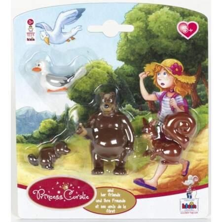 Rinkinys lėlės Princess Coralie 5114