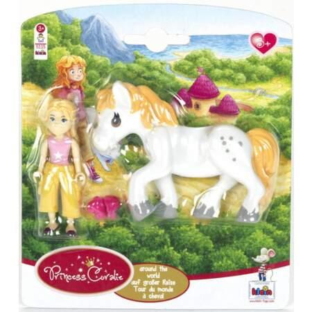 Rinkinys  Princess Coralie Princesės Coralie su savo mylimu arkliu