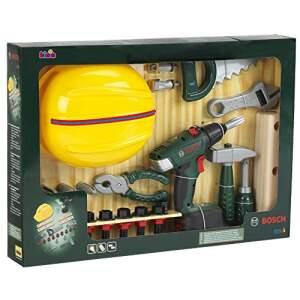 Įrankių rinkinys Bosch su šalmu