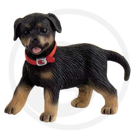 BULLYLAND žaislinė šuniuko figūrėlė rotveileris