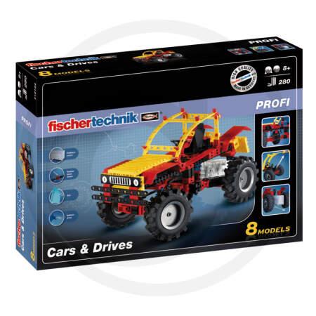 CARS & DRIVES Fischertechnik konstruktorius