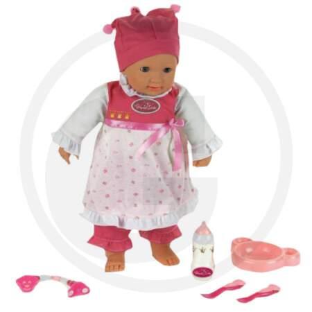 Interaktyvi lėlė PRINCESS CORALIE - kūdikis princesė Coralie