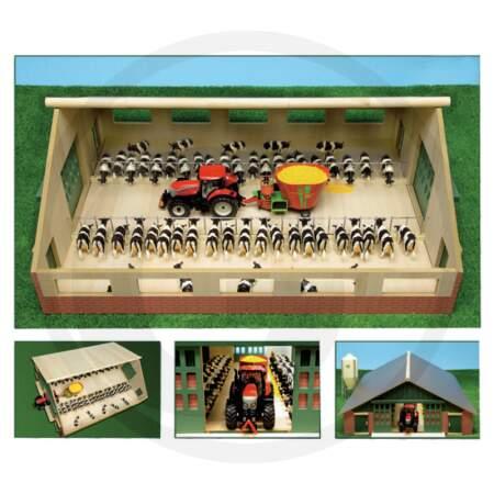 KIDS GLOBE TIMBER EXERCISE PEN ferma garažas ūkiui