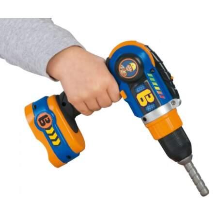 Grąžtas SMOBY BOB įrankis berniukams vaikiškas #grąžtas