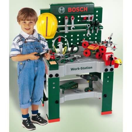 Darbastalis Bosch Klein 150 elementų įrankiai įrankių komplektas