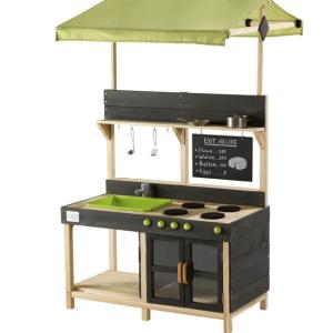 Medinė virtuvėlė Yummy lauko virtuvės aukščiausios kokybės