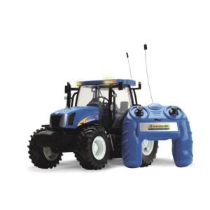 Traktoriuks su distancinius Big Farm New Holland T6070 nuotolinio valdymo traktorius