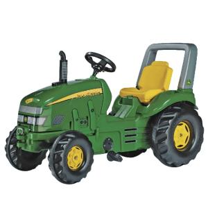 Keturatis Minamas traktorius vaikams Rolly Toys John Deere