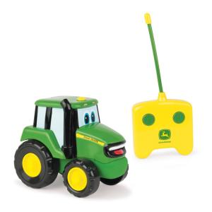 John Deere traktoriukas yra puikus pirmasis radijo valdymas vaikams! Su distanciniu