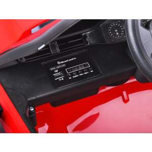 "Elektromobilis ""Range Rover Evoque"", raudonas"