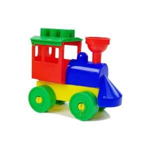 Traukinukas su nuimamais vagonais