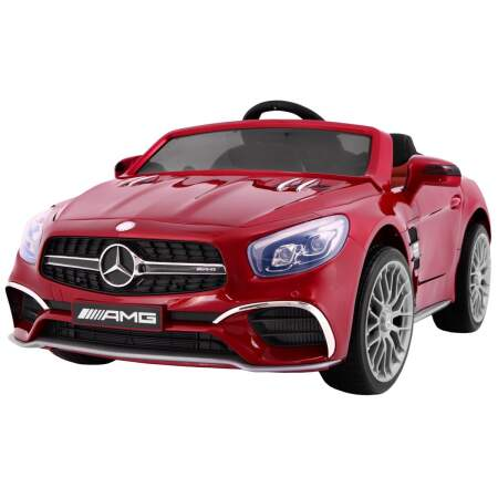 """Vaikiškas elektromobilis """"Mercedes AMG SL65"""" Raudonas - Lakuotas"""
