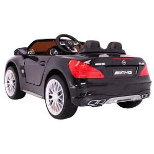 """Vaikiškas elektromobilis """"Mercedes AMG SL65"""" Juodas Lakuotas"""