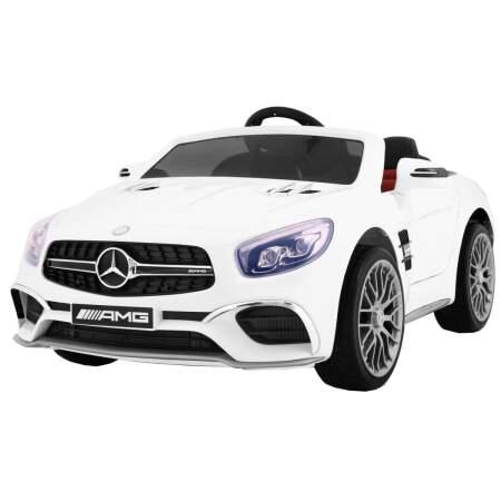 "Vaikiškas elektromobilis ""Mercedes AMG SL65"" Baltas"