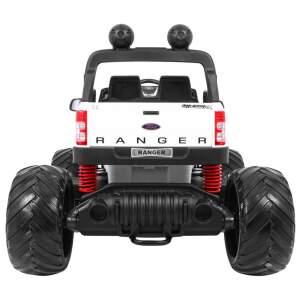 "Vaikiškas elektromobilis ""Ford Ranger MONSTER 4x4"", baltas"