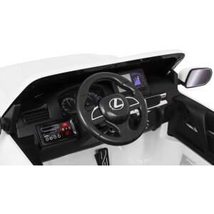 "Vaikiškas elektromobilis ""Lexus LX570"" Baltas"
