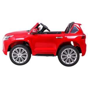 """Vaikiškas elektromobilis """"Lexus LX570"""" Raudonas - Lakuotas"""