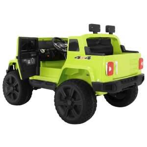 """Vaikiškas elektromobilis """"Mighty Jeep 4x4"""" Žalias"""