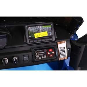 """Vaikiškas elektromobilis """"Range Rover HSE"""" Mėlynas - Lakuotas"""