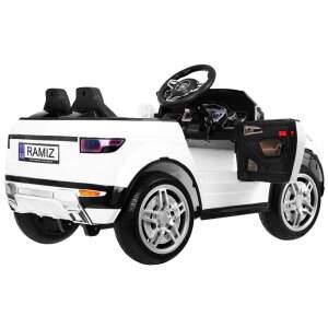 "Vaikiškas elektromobilis ""Rapid Racer"", baltas"
