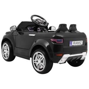 """Vaikiškas elektromobilis """"Rapid Racer""""  Juodas"""