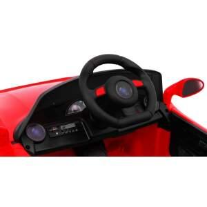 """Vaikiškas elektromobilis """"Roadster"""", raudonas"""