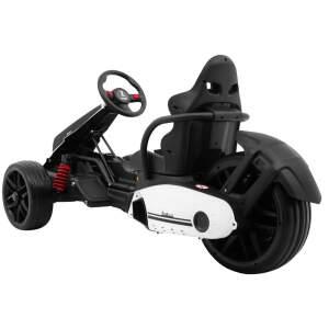 """Vaikiškas Triratis elektromobilis  """"XR-1"""" Baltas"""
