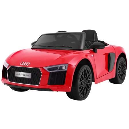 """Vaikiškas elektromobilis """"AUDI R8 Spyder"""" Raudonas"""