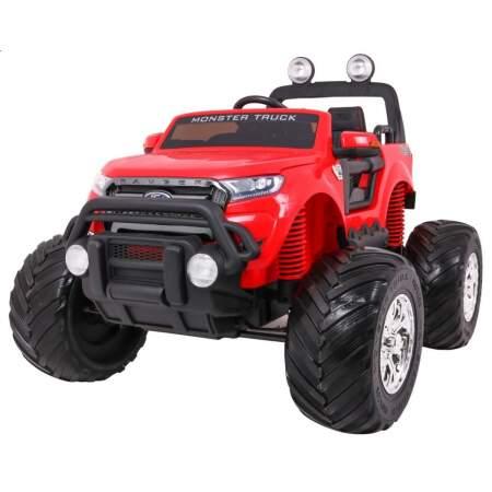 """Vaikiškas elektromobilis """"Ford Ranger 4x4 MONSTER"""", raudonas"""