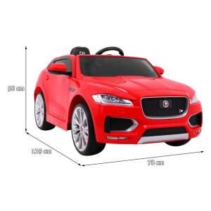 """Vaikiškas elektromobilis """"Jaguar F-Pace"""", raudonas"""