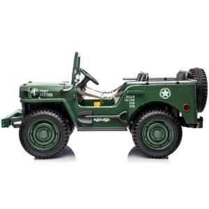 "Trivietis elektromobilis ""Jeep Willys"""