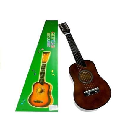 Žaislinė gitara, tamsiai ruda