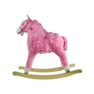 Supamas arkliukas, rožinis