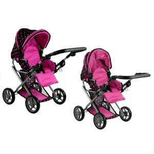 """Transformuojamas lėlių vežimėlis """"Alice"""""""