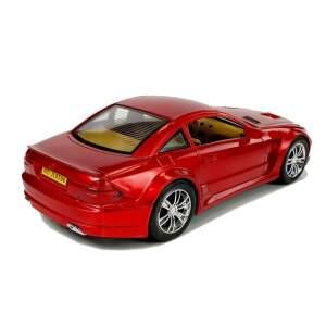 Žaislinis automobilis, raudonas