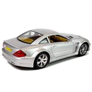Žaislinis automobilis, sidabrinis