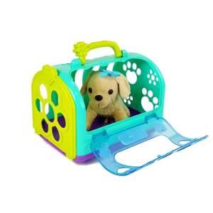 Veterinaro rinkinys su šuniuku ir dėžute