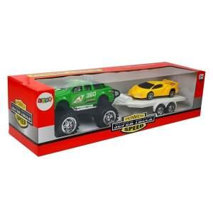 Visureigis su sportiniu automobiliu, žalias