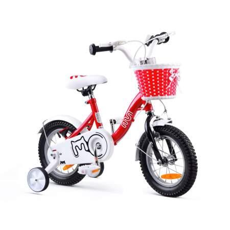 """Vaikiškas dviratis """"Royal Baby Girls Chipmunk MM 12"""", raudonas"""
