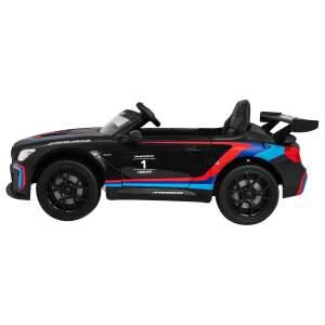 """Vaikiškas elektromobilis """"BMW M6 GT3"""", juodas"""