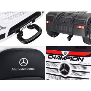 "Vaikiškas vienvietis elektromobilis ""Mercedes benz Actros"", Baltas"