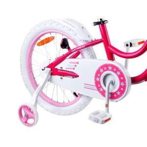 """Vaikiškas dviratis """"Royal Baby Star Girl 18"""", rožinis"""