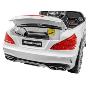 Elektromobilis Mercedes SL65 AMG, juodas
