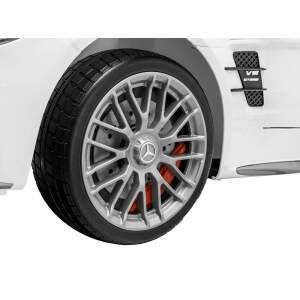 Elektromobilis Mercedes SL65 AMG, raudonas