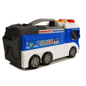 Sulankstomas policijos automobilis, 2in1