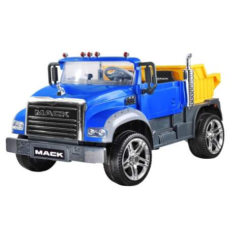 "Vaikiškas elektromobilis ""Mack Trucks"", mėlynas"