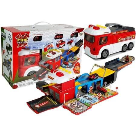 Sulankstomas gaisrinės automobilis, 2in1