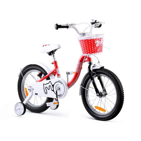 """Vaikiškas dviratis """"Royal Baby Girls Chipmunk MM 16"""", raudonas"""